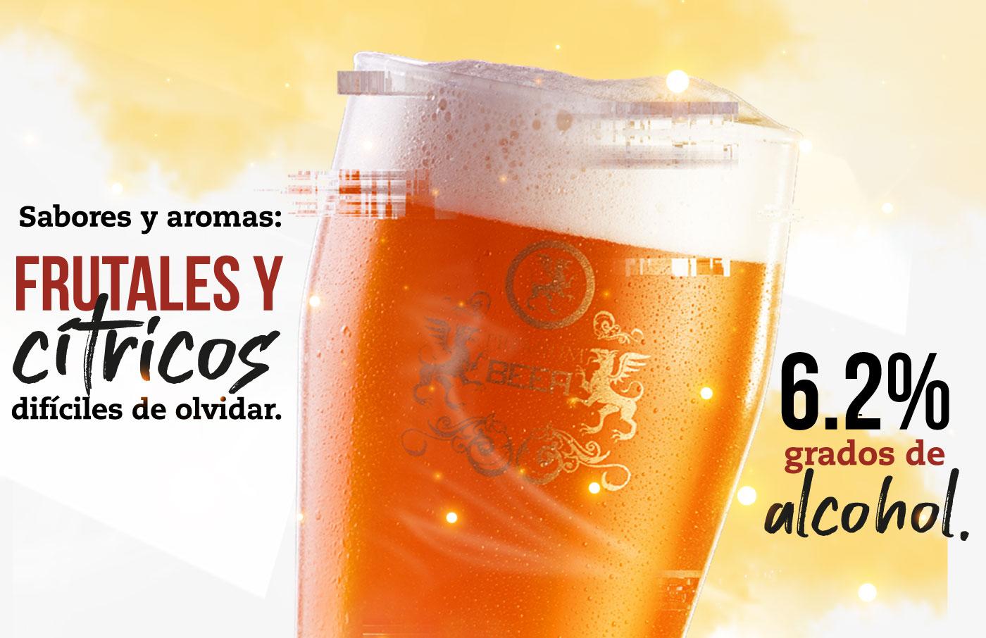cerveza mysteria ipa, sabores y aromas frutales y citricos dificiles de olvidar, pub de cervezac