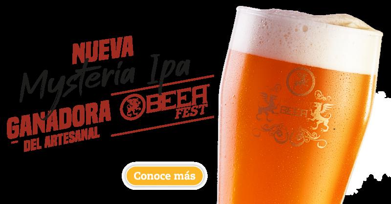cerveza mysteria ipa- ganadora del artesanal beer fest, cerveza artesanal bogota